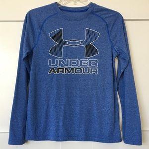 Under Armour Blue Long-Sleeved Shirt